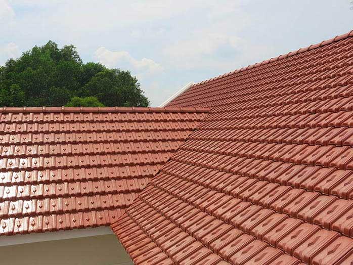 Chọn ngói truyền thống là cách chống nóng cho tầng áp mái phổ biến ở nông thôn