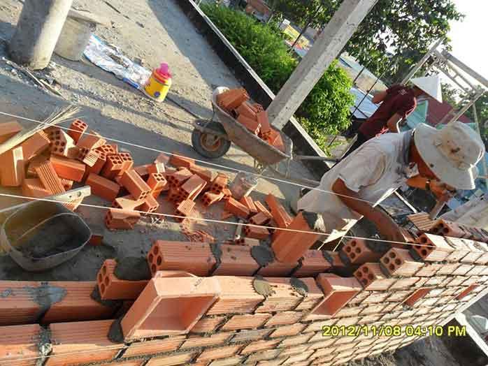 Tư vấn việc xây tường nhà 2 lớp để chống nóng